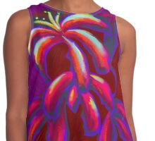 Lilies Contrast Tank