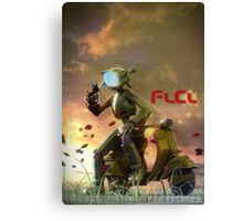 FLCL - Canti and Takkun Canvas Print