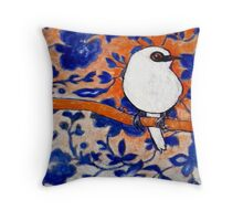 Little Show Bird Throw Pillow