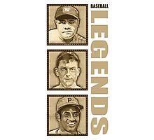 Baseball Legends Photographic Print