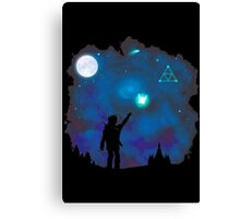 Tri-Force of Nature Canvas Print
