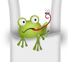 Frog Pet Carrier by Carol Vega