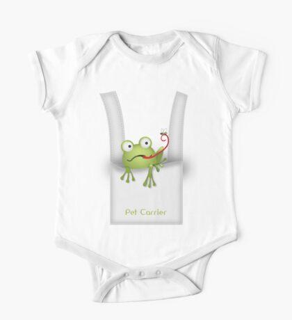 Frog Pet Carrier One Piece - Short Sleeve