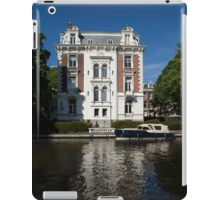 Amsterdam Canal Mansions - Bright White Symmetry  iPad Case/Skin