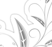 Abstract Plant Sticker