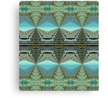 Earth and Sky Kaleidoscope Canvas Print