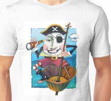 Humpty Dumpty the Pirate Unisex T-Shirt