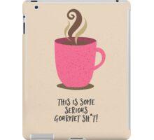 gourmet coffee iPad Case/Skin