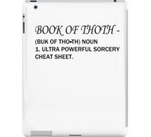 Book Of Thoth iPad Case/Skin