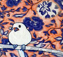 "Little Snow Bird 2 by Belinda ""BillyLee"" NYE (Printmaker)"