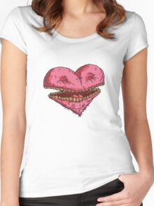 heart of laughter... Women's Fitted Scoop T-Shirt