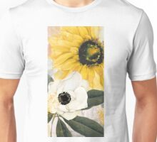 Blue Then Yellow Unisex T-Shirt