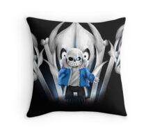 Undertale - Final Boss Sans Artwork Throw Pillow