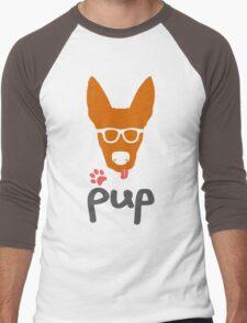 Geeky Pup Men's Baseball ¾ T-Shirt