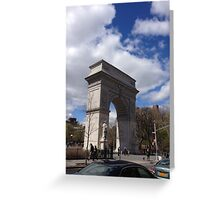 Sq. Park Greeting Card