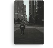 The Crosswalk Canvas Print