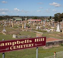 Historic Campbells Hill Cemetery, Maitland, Australia by SNPenfold