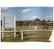 Historic Oakhampton Cemetery, Maitland Australia Poster