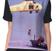 The Rescue, Broadstairs, Kent, 1980 Chiffon Top