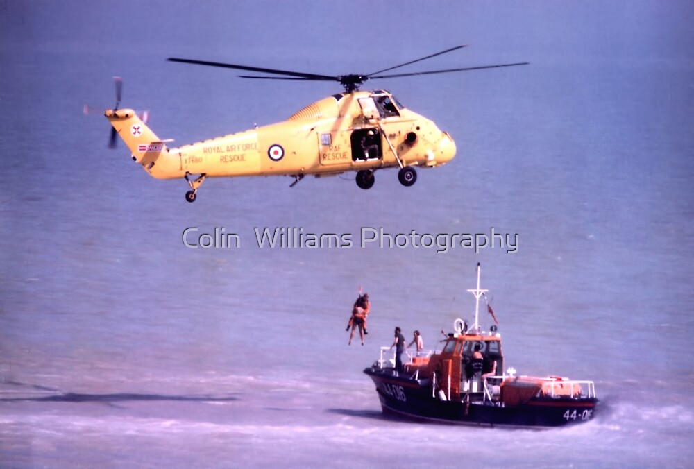 The Rescue, Broadstairs, Kent, 1980 by Colin  Williams Photography