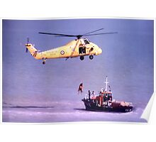 The Rescue, Broadstairs, Kent, 1980 Poster