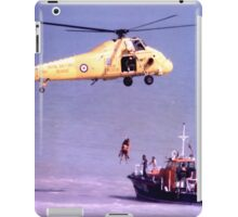The Rescue, Broadstairs, Kent, 1980 iPad Case/Skin