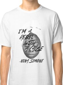 Rebel With a Cause - Face Classic T-Shirt