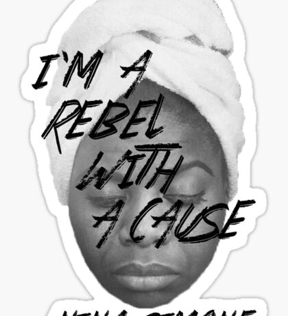 Rebel With a Cause - Face Sticker