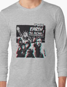 Planet of the Apes - 3D ver. Long Sleeve T-Shirt