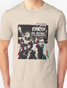 Planet of the Apes - 3D ver. Unisex T-Shirt