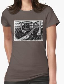 PLAY ME A SONG Womens Fitted T-Shirt