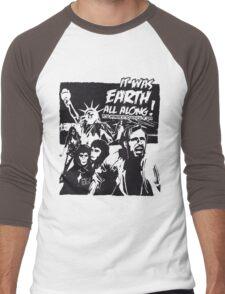 Planet of the Apes  Men's Baseball ¾ T-Shirt