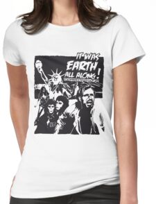 Planet of the Apes  Womens Fitted T-Shirt