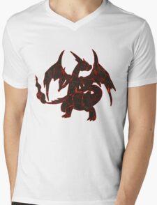 LavaZard Mens V-Neck T-Shirt