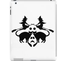 Halloween Rorschach  iPad Case/Skin