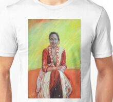 Portrait of a Nepalese woman in tradional costume Unisex T-Shirt