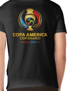 COPA AMERICA CENTENARIO USA 2016 LOGO FRTR Mens V-Neck T-Shirt