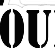 #InYourPalm (Black) Sticker