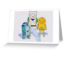 Adventure Wars Greeting Card