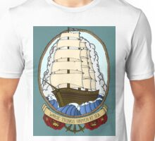 Traditional Ship in Color Unisex T-Shirt