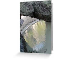 Cove on the Beach Greeting Card