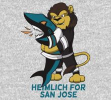 Heimlich for San Jose - Sharks choke One Piece - Long Sleeve