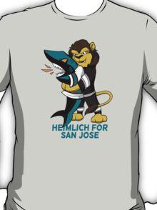 Heimlich for San Jose - Sharks choke T-Shirt
