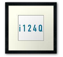 i124Q Framed Print