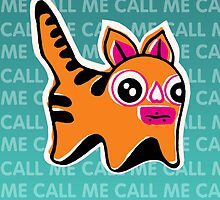 Needy Cat-Dog by pixel-city