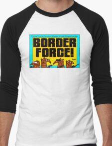 Border Force! Men's Baseball ¾ T-Shirt