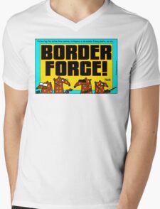 Border Force! Mens V-Neck T-Shirt