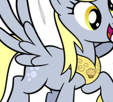 Princess Derpy Tshirt Sticker