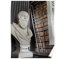 Socrates in the Long Room Poster