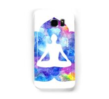 Meditation. Lotus asana Samsung Galaxy Case/Skin